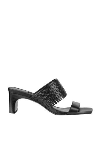Nine West black NWNIRVELI Open Toe Sandals AB090SHAE843D0GS_1