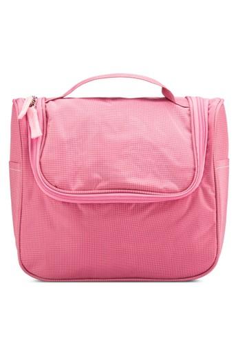 拉鍊翻蓋防水盥洗收納旅行包, 包,esprit mongkok 包