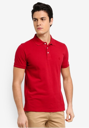 Buy brooks brothers red fleece garment dyed pique polo for Brooks brothers tall shirts