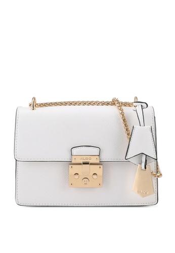 ALDO white Criwiel Shoulder Bag B219FAC9D93BDBGS_1