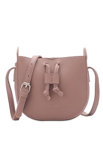 PLAYBOY BUNNY pink Drawcord Sling Bag 76751AC489865BGS_1