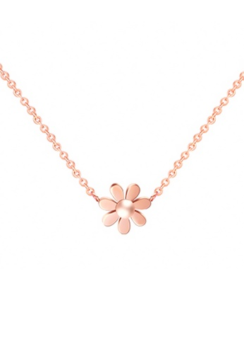 CELOVIS gold CELOVIS - Daisy Dainty Flower Pendant Necklace (Rose Gold) 69C92AC3195BB7GS_1