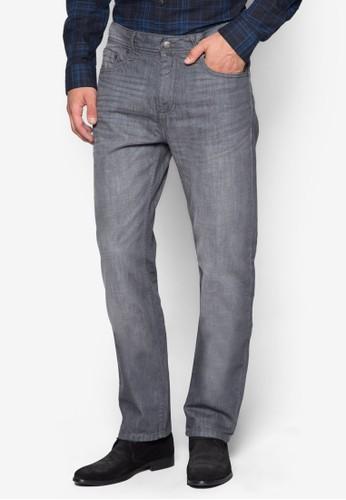 水洗直筒牛仔褲,zalora時尚購物網的koumi koumi 服飾, 服飾