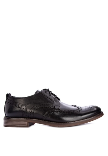 Rockport black Wynstin Wingtip Formal Shoes A7CACSHE9C454FGS_1