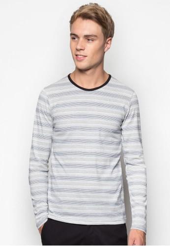 條紋長袖衫, 服飾esprit鞋子, T恤