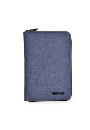 AGVA AGVA LTB328 RFID Passport Case (Blue) 60319ACCD548B6GS_1