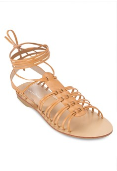 Strappy Lace Up Gladiator Sandals