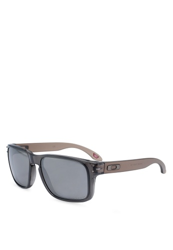 Oakley 多色 方框太陽眼鏡 87ECBGLA50864BGS_1