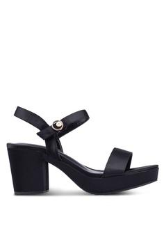 afc8737228c3 VINCCI black Strappy Heels E2F9DSH920BB69GS 1