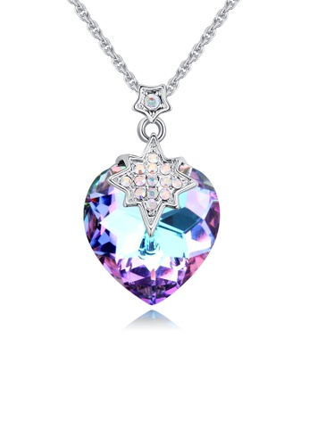 Urban Outlier purple and silver Crystal Necklace 129579 2A99DACE2E7BBAGS_1