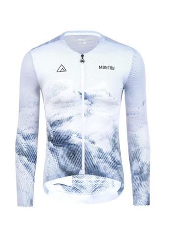 MONTON white Monton jersey men long sleeve iceberg 4C97CAA8ADF006GS_1