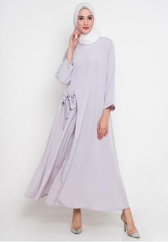 JV Hasanah silver Simply Ribbon Dress JV519AA0V7UBID_1