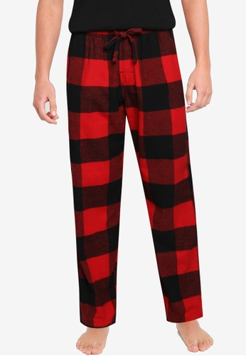 Old Navy red Matching Plaid Flannel Pajama Pants BBB7EAAD9752BAGS_1
