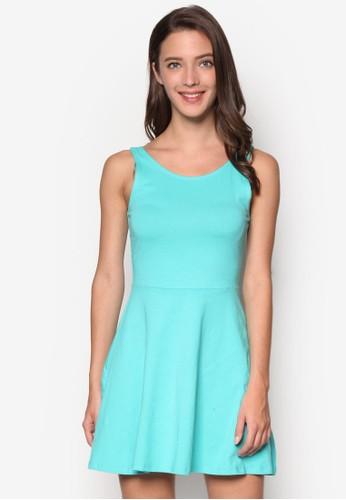 簡約無袖連身裙, 服esprit地址飾, 服飾