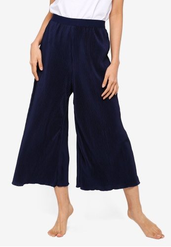 Cotton On Body blue Woven Crinkle Culotte 23BECAACA595CBGS_1