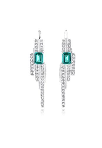 SUNRAIS silver High quality Silver S925 silver simple design earrings DDB5DAC96A8118GS_1