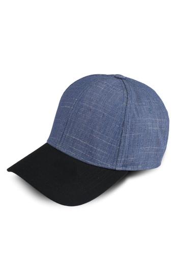 Penshoppe blue Denim Baseball Cap 11F83AC633023AGS_1