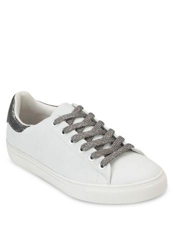 esprit 旺角仿皮繫帶運動鞋, 女鞋, 鞋