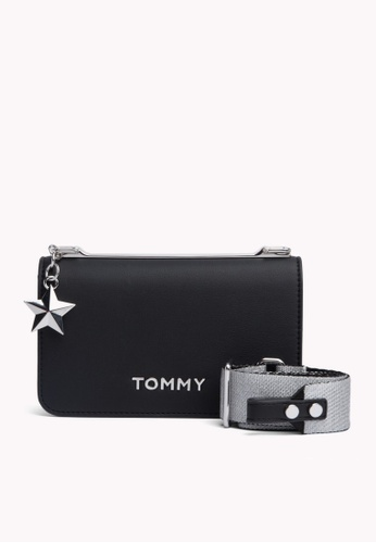 38dc790685 Tommy Hilfiger black TOMMY STATEMENT CROSSOVER FF139ACFCC0862GS 1