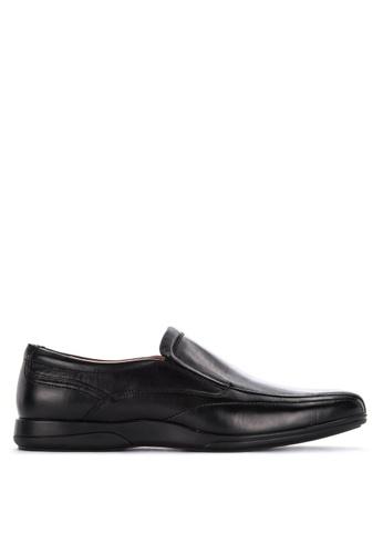 Gibi black Yum Side Garter Formal Shoes 3509CSHF3CBB58GS_1
