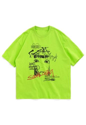 Twenty Eight Shoes Trend Printed Short T-shirt 1038S20 8DBBAAAF47F39AGS_1