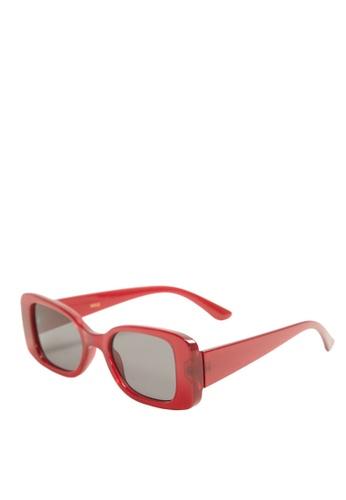 Mango red Retro Style Sunglasses 964DEGL73588F9GS_1