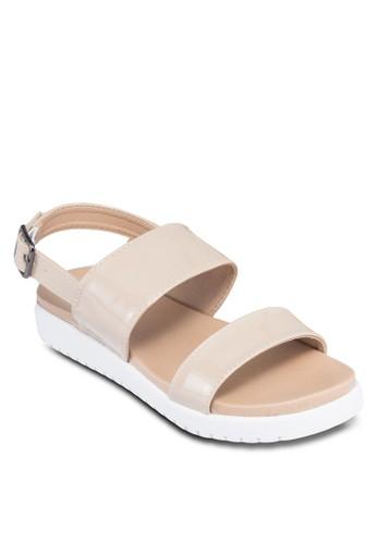 Loidien 踝帶厚底涼鞋, zalora 順豐女鞋, 鞋