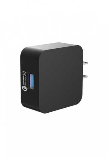 Tronsmart black Tronsmart WC1T Quick Charge 3.0 USB Wall Charger Black FE7F5ES3769D9EGS_1