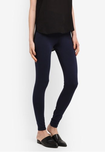 Dorothy Perkins navy Cotton Leggings E647FAA38A7382GS_1