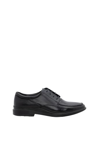 SEMBONIA black SEMBONIA Men Microfiber Business Shoe (Black) A705FSH513E2A2GS_1
