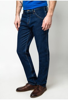 Texas Tapered Mid Persian Blue Pants