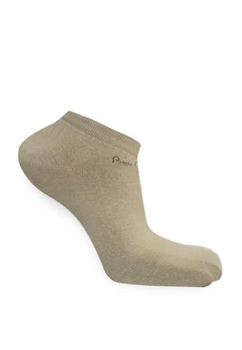 Pierre Cardin Socks beige and brown PIERRE CARDIN Men Sock Casual Sneaker Basic AAFF9AAAD6E4FCGS_1
