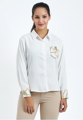 MKY Clothing white Printed Pocket Shirt 7A640AA81DB0C6GS_1
