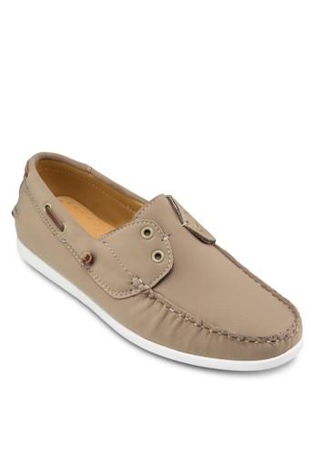 簡約尼龍船型鞋,zalora是哪裡的牌子 鞋, 休閒鞋