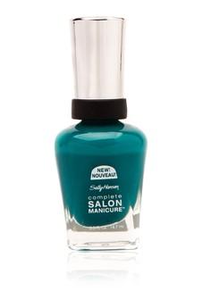 Complete Salon Manicure - Blue Streak
