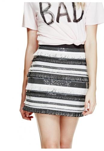 Guess black Londyn Mini Skirt GU020AA0GVDLSG_1