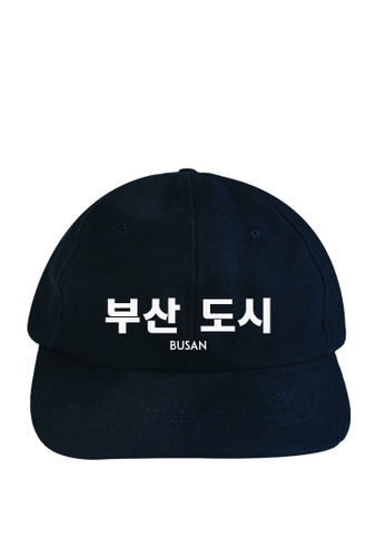 HYPE MNL blue Korean Tee Busan Baseball Cap 1E070AC08B2AEEGS_1