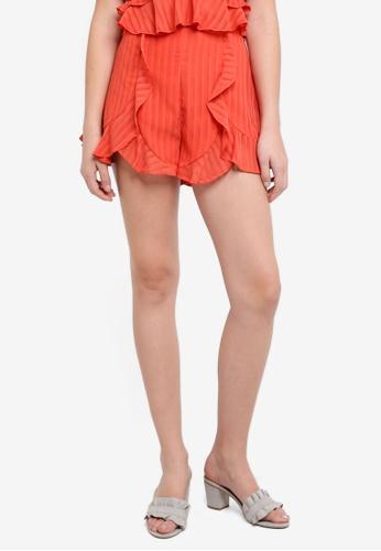 Finders Keepers orange Twilight Shorts DB45FAAE6356B6GS_1