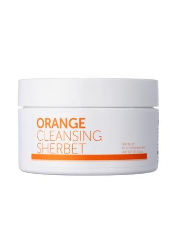 label.m white Aromatica Orange Cleansing Sherbet 180G FA631BEFA4362AGS_1