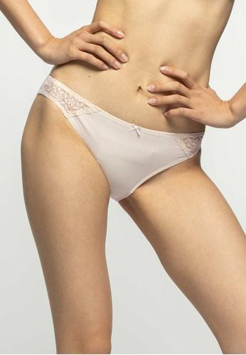 6IXTY8IGHT beige ARISA SOLID, Bikini brief  PT10847 805D5USB93B08BGS_1