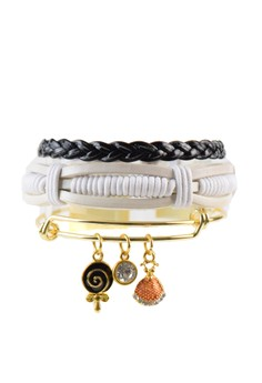 Pack of 3 Bracelets - Lolly Charm Stack