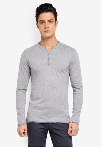 ESPRIT grey Long Sleeve T-Shirt E595FAA1318938GS_1
