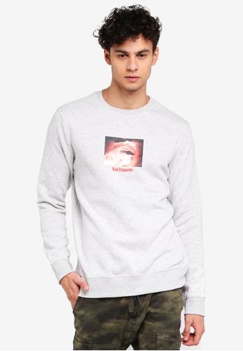 Cotton On grey Crew Fleece Sweatshirt 1A4EDAAD384B2DGS_1