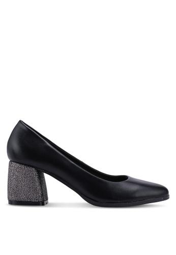 BETSY black Classic Pump Heels 9738ASHBC12368GS_1