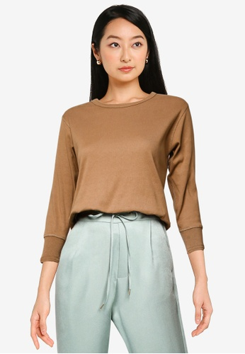 niko and ... brown Casual Knitted Sweater FB486AAC6BC02EGS_1
