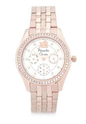 Alexandre Christie gold Alexandre Christie Jam Tangan Wanita - Rosegold White - Stainless Steel - 2496 BFBRGSL FAC03AC26CCE72GS_1