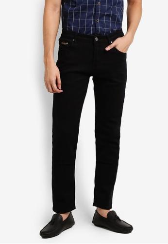 Fidelio black 518 Slim Fit Stretchable Denim Jeans FI826AA07JYMMY_1