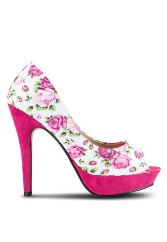 Alfio Raldo pink Peep Toe Heels AL803SH0R9PDMY_1