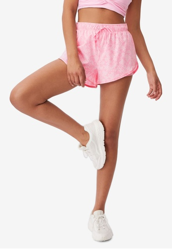 Cotton On Body pink Move Jogger Shorts 00DFEAAD409C37GS_1