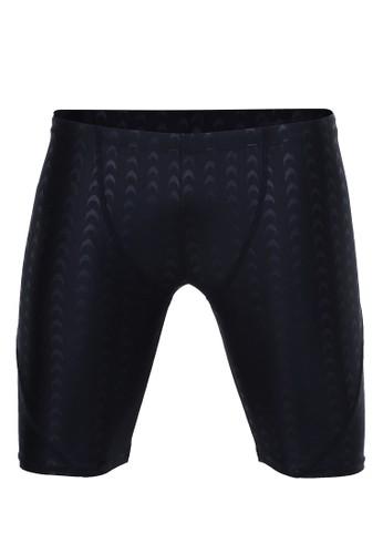 Hamlin black Yume Celana Renang Pria Sharkskin Size XXL Simple Design Material Spandex Polyester ORIGINAL - Black 35872AA33DBEB8GS_1